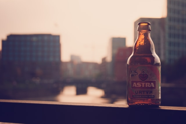 Astra Bier in Hamburg
