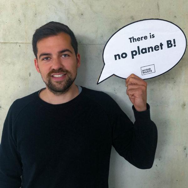 Jan Patzer (29) Mitgründer von Avoid Waste