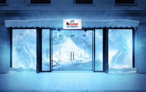 Pop-up Store der Marke kinder