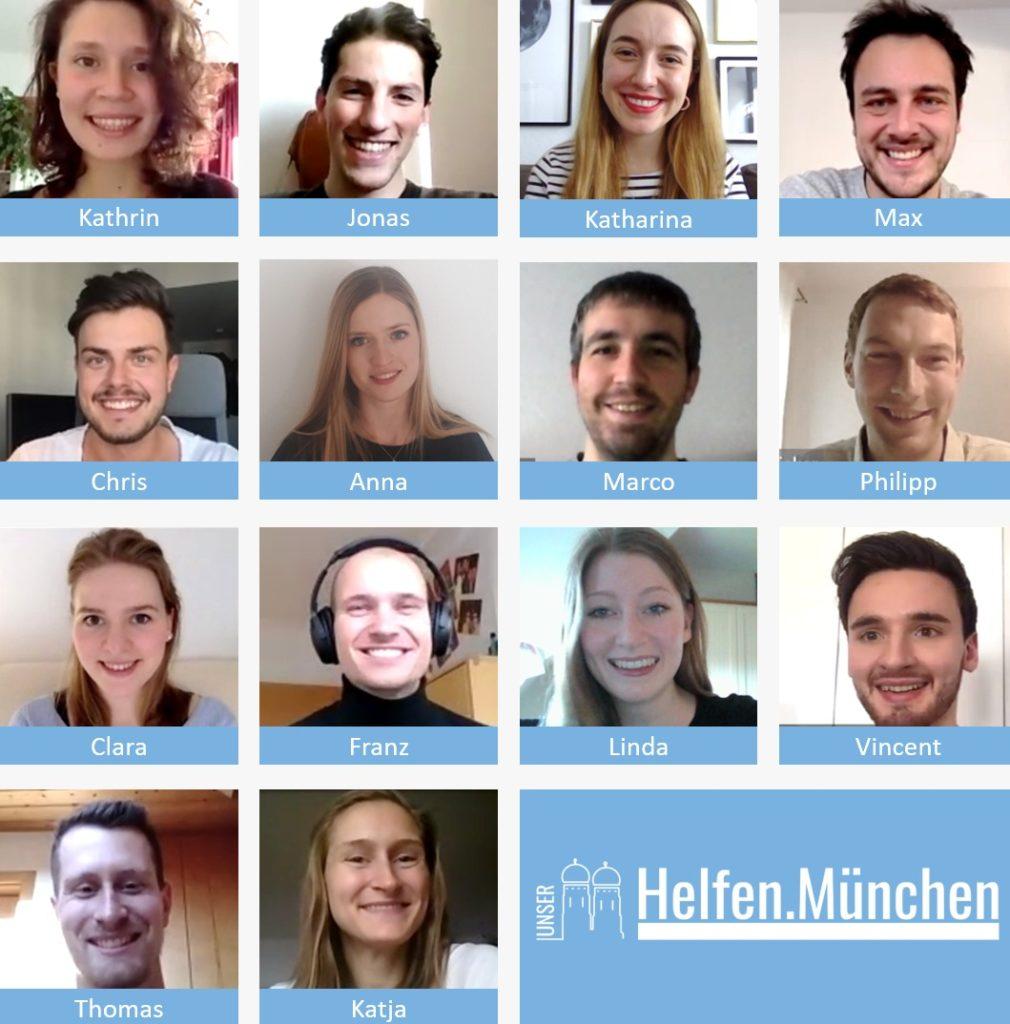 Teambild Helfen München
