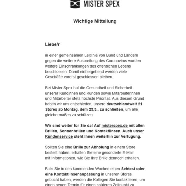 corona misterspex