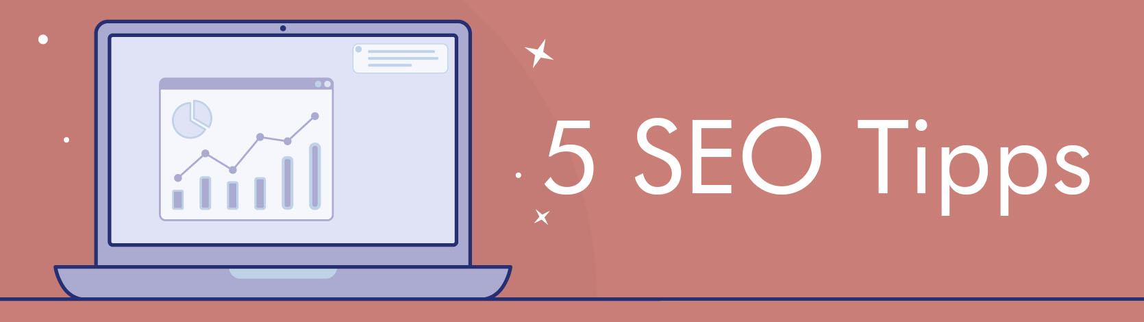 5 SEO Tipps Header