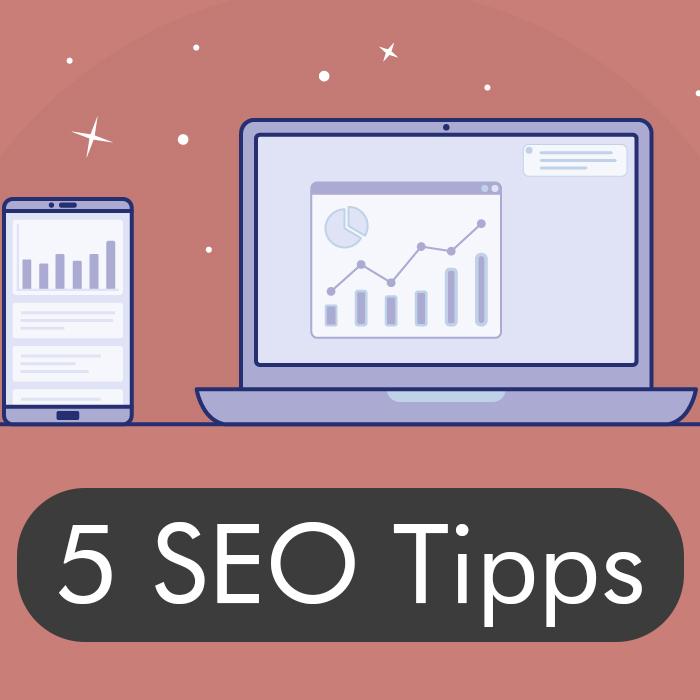 5 SEO Tipps Thumbnail