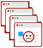 SEO Duplicate Content Symbolbild