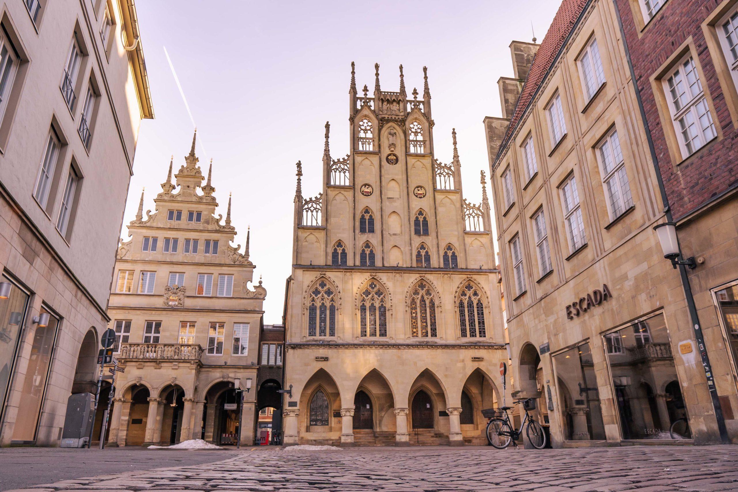 Prinzipalmarkt Altes Rathaus Münster